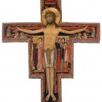 Kreuz von San DamianoBasilika Santa ChiaraAssisi, Italien