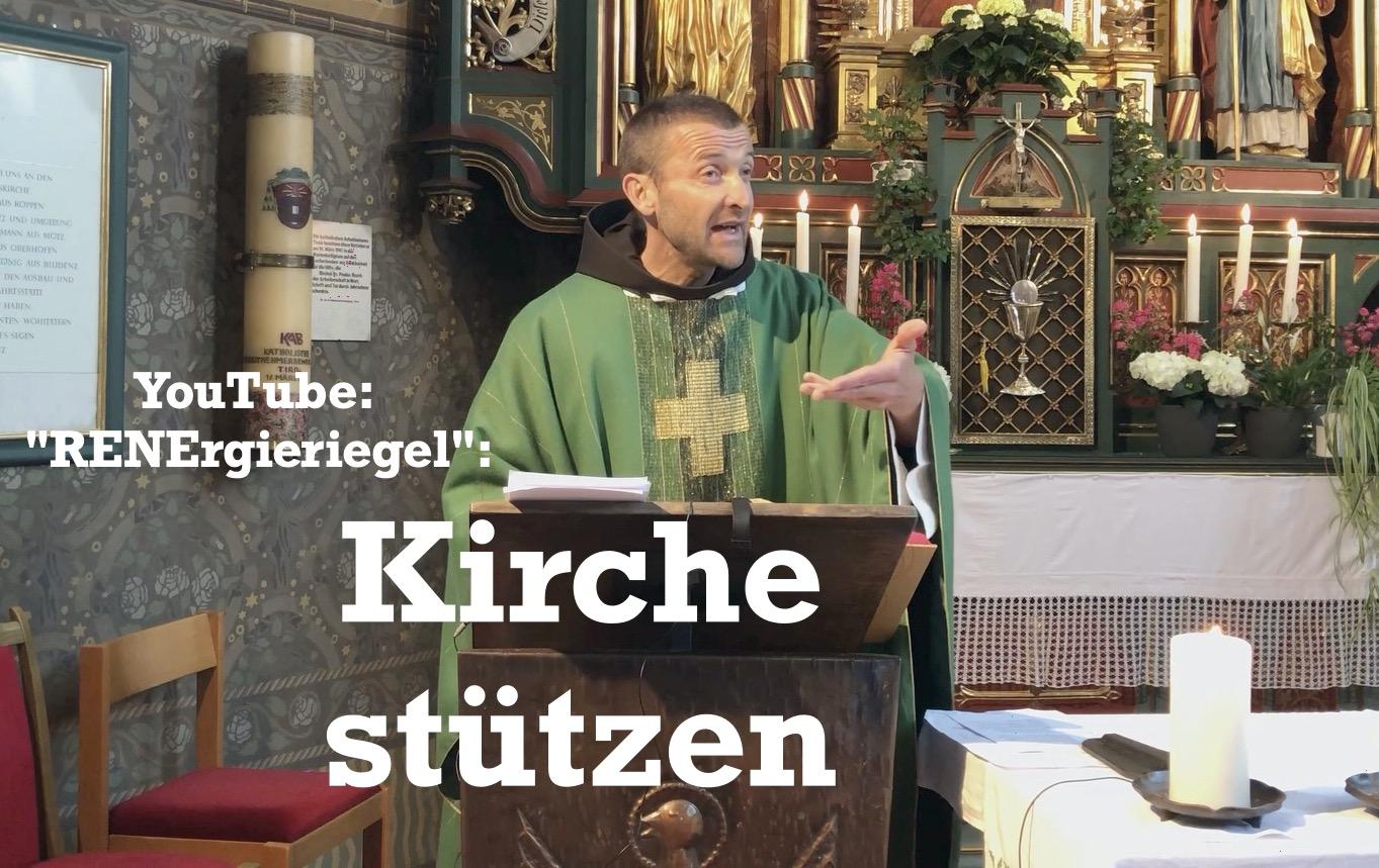 Kirche stützen