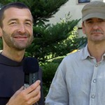 Bruder Rene Dorer mit Torsten Hartung