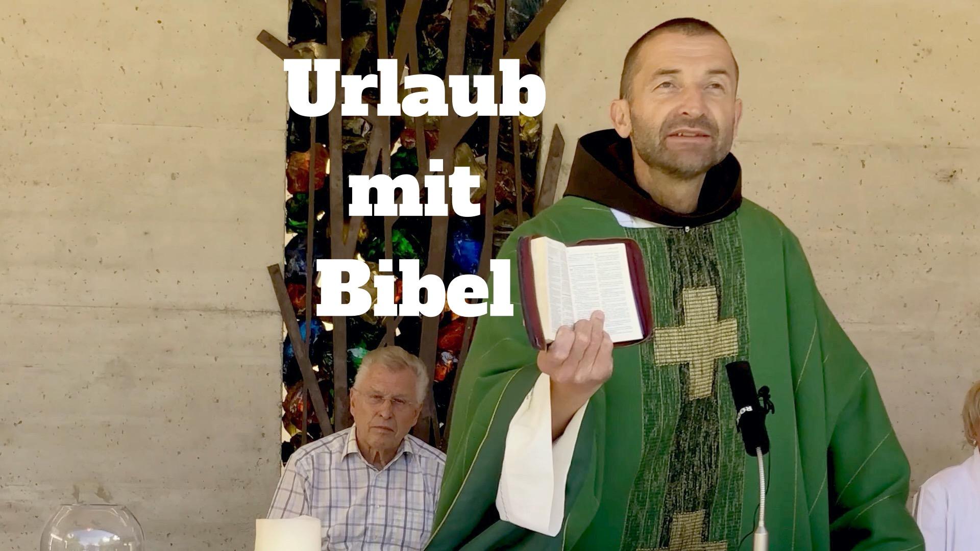 Urlaub mit Bibel