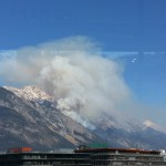 Waldbrand in Absam (2)